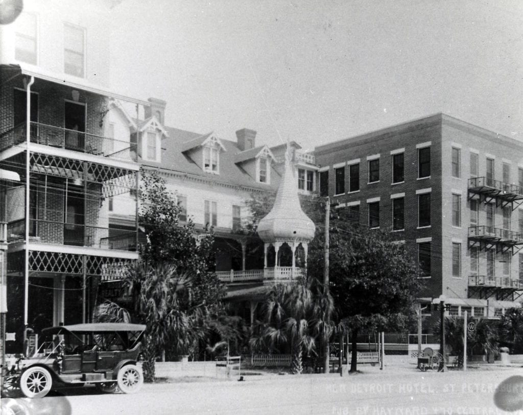 The Detroit Hotel (Then) Photo Source: City of St Petersburg