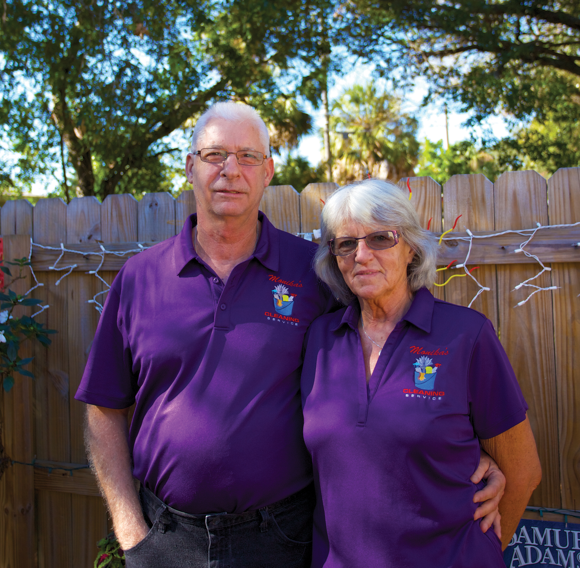 Bill and Monika Turner clean over thirty homes in Magnolia Heights, Old Northeast, Snell Isle, and Woodlawn