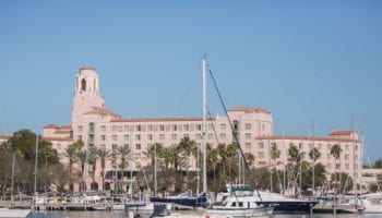 The Vinoy Hotel. Photo credit: City of St Petersburg.