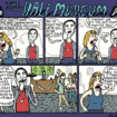 The Dali Museum. Comic by Erik Jasek.