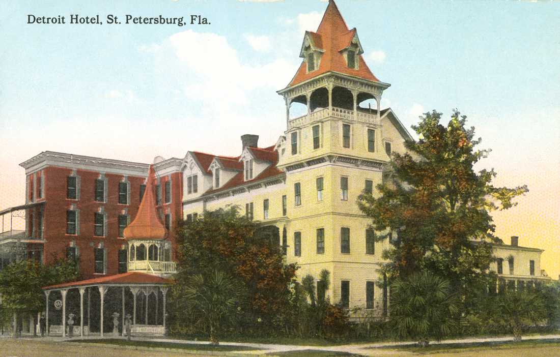 Detroit Hotel, St. Petersburg, Fla. circa 19--