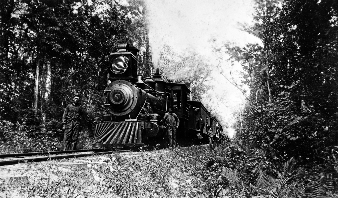 Sanford & St. Petersburg Railway Company engine number 7 circa 18--