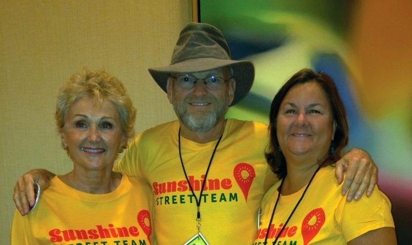 Sharon, Terry and Shelli