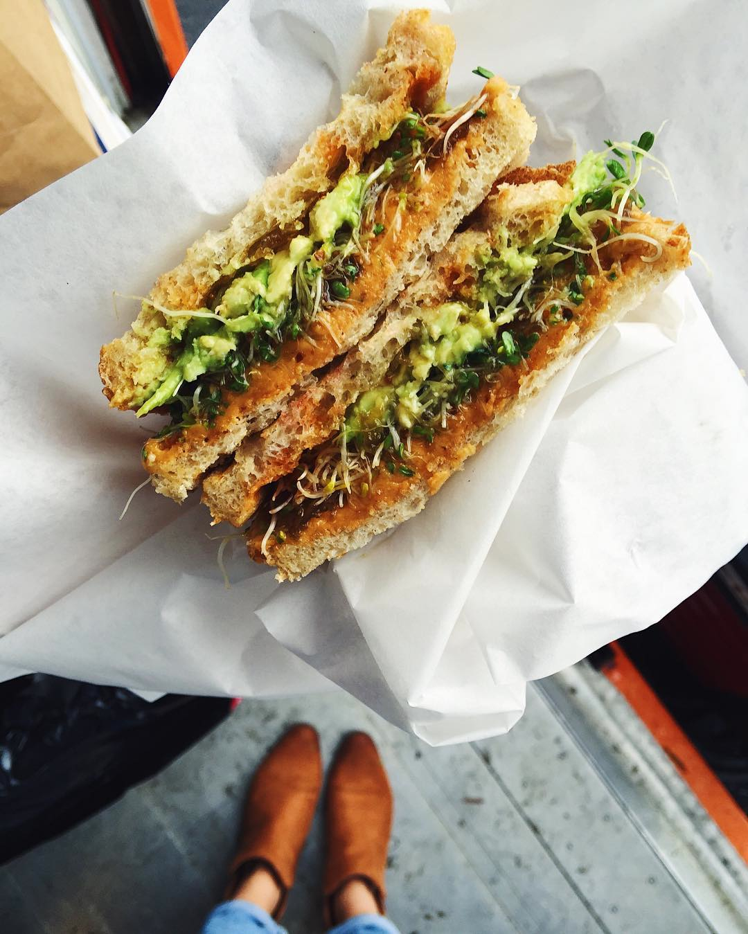 Savory Sandwich - Photo credit: @pbjellydeli Instagram