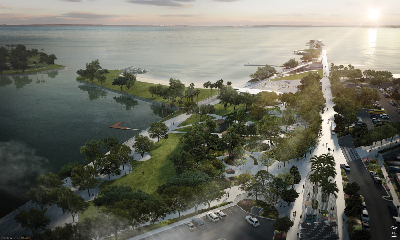 Artist rendering of the new St. Petersburg Pier. Scheduled to be completed in 2018. Visit www.newstpetepier.com for more information.