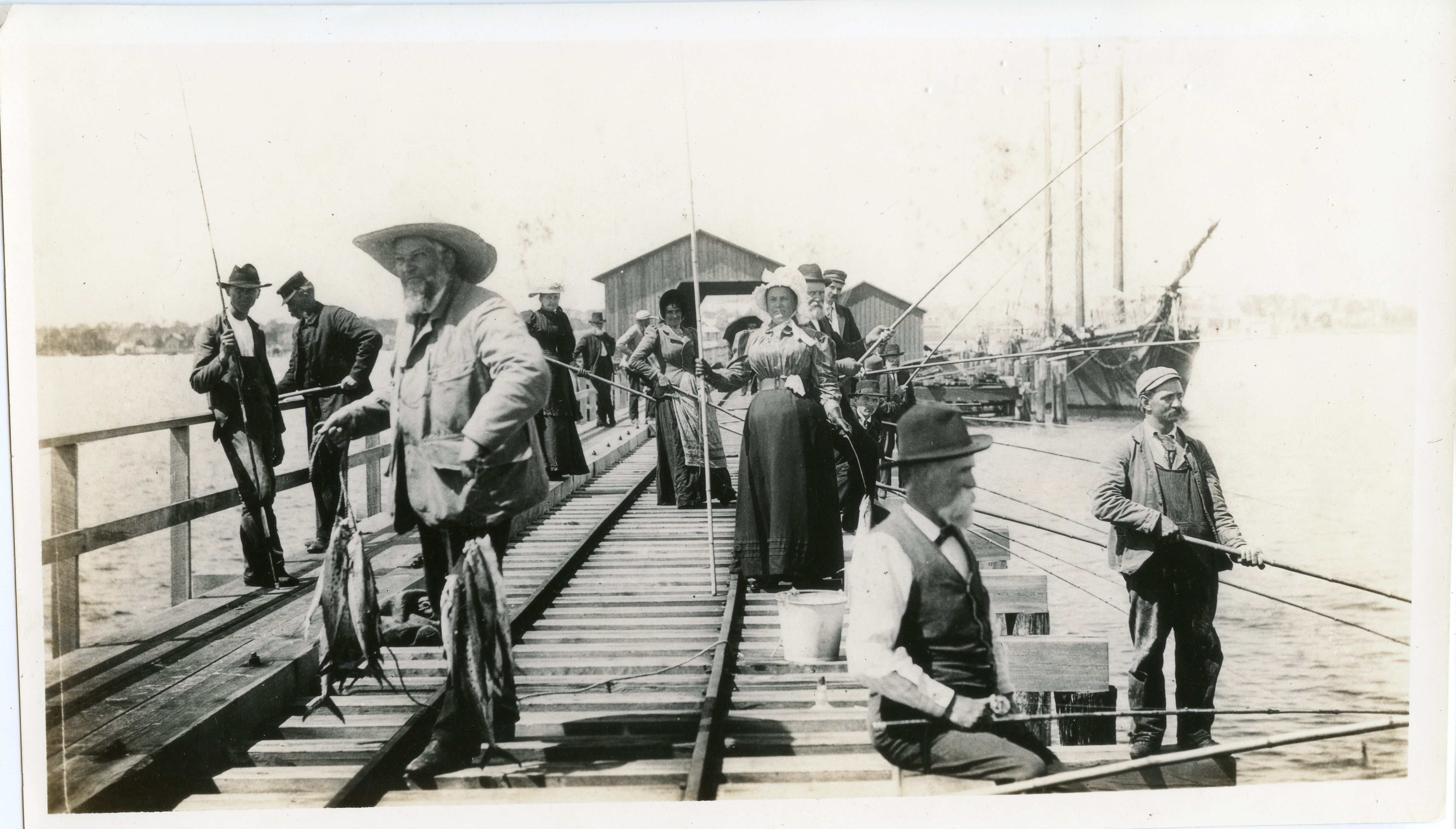 St Petersburg History - Railroad Pier