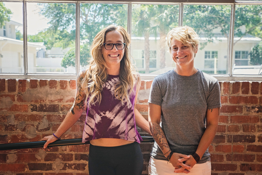 R to L: Owners, Katelyn Grady and Jenny Miller. Photos by Kelly Nash Photography