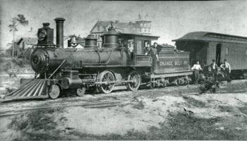 Orange Belt Railway 1888. From the St Petersburg Museum of History