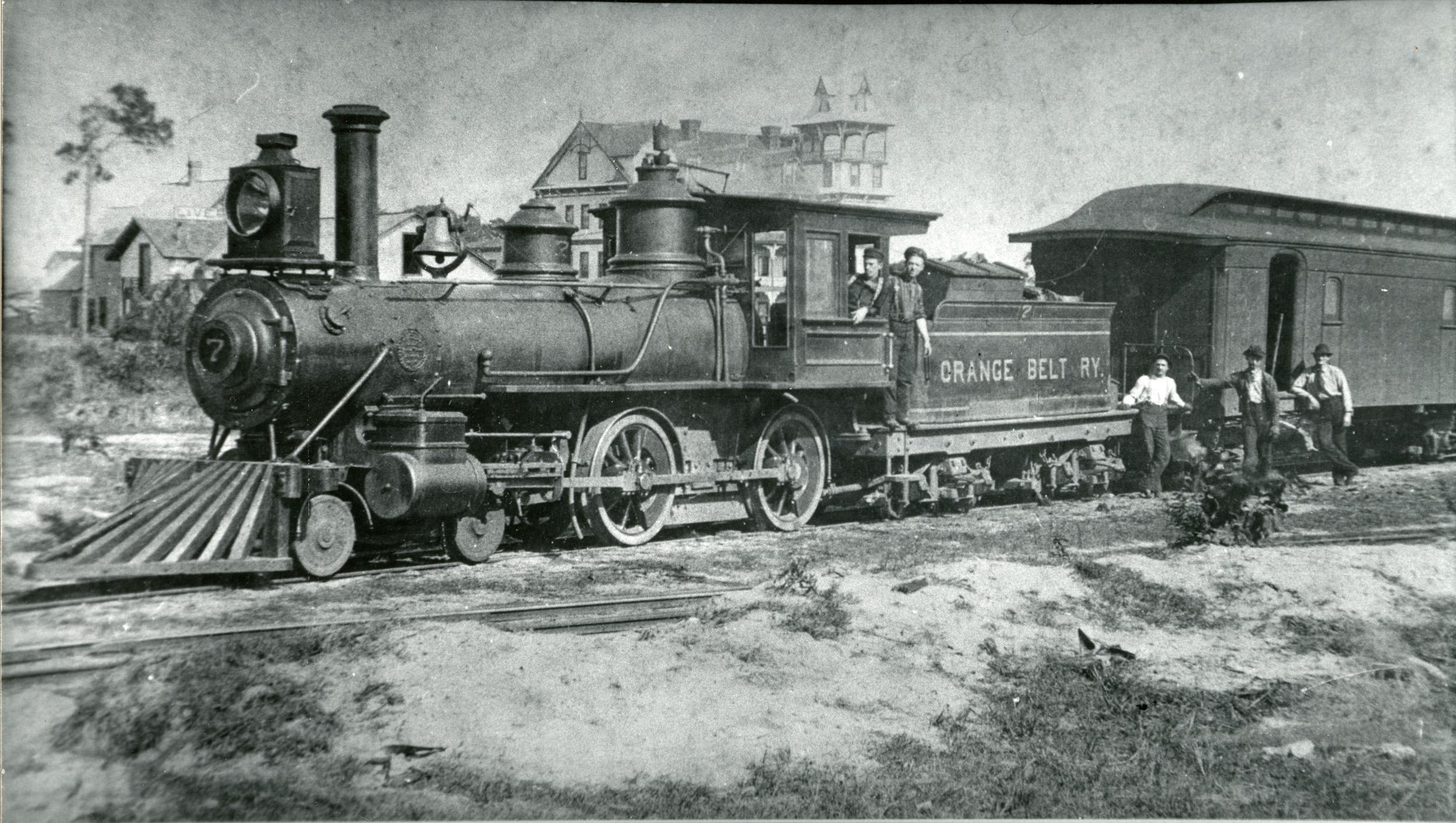 Orange Belt Railway 1888. From the St Petersburg Museum of History.