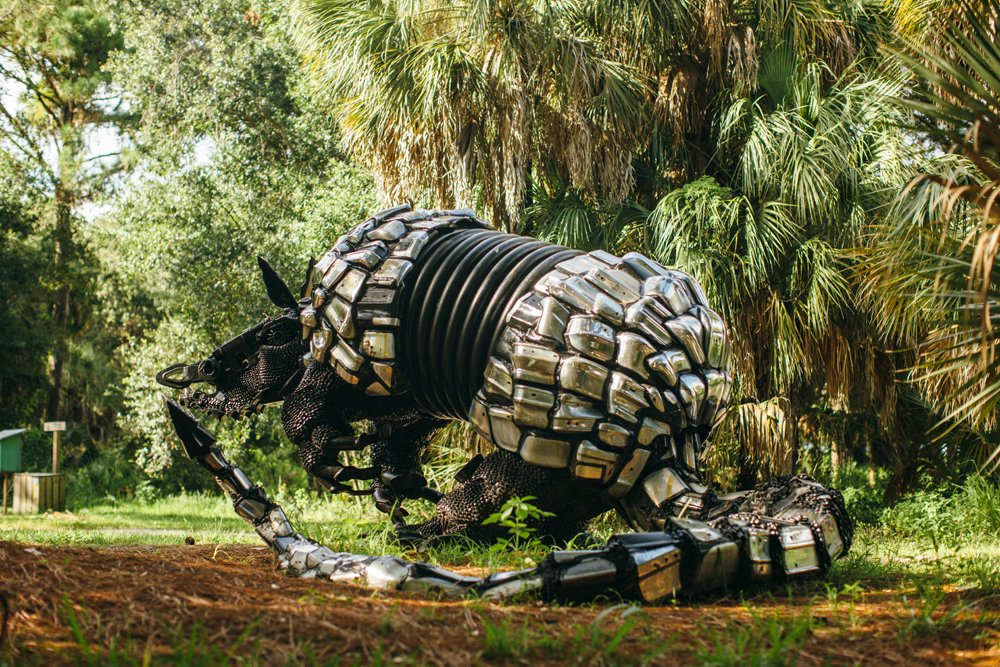 Armadillo Sculpture by Paul Eppling.