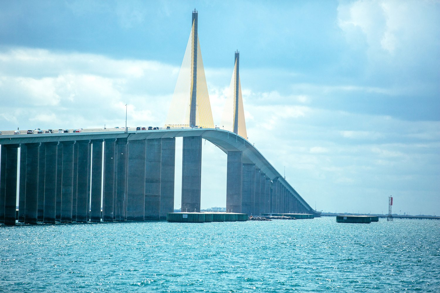 Sunshine Skyway Bridge 2015. Photo credit: City of St Petersburg.