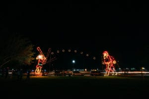 Holiday Light Display by City of St. Petersburg