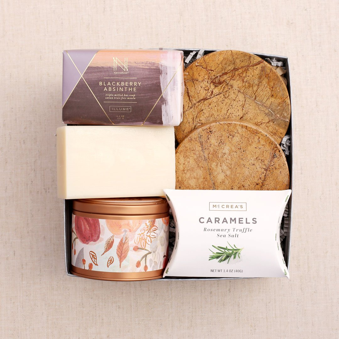 Fall Feels Curated Gift Box by Pumeli