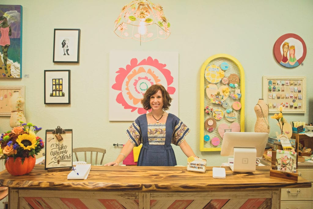 Amy Marshall, shop owner and curator