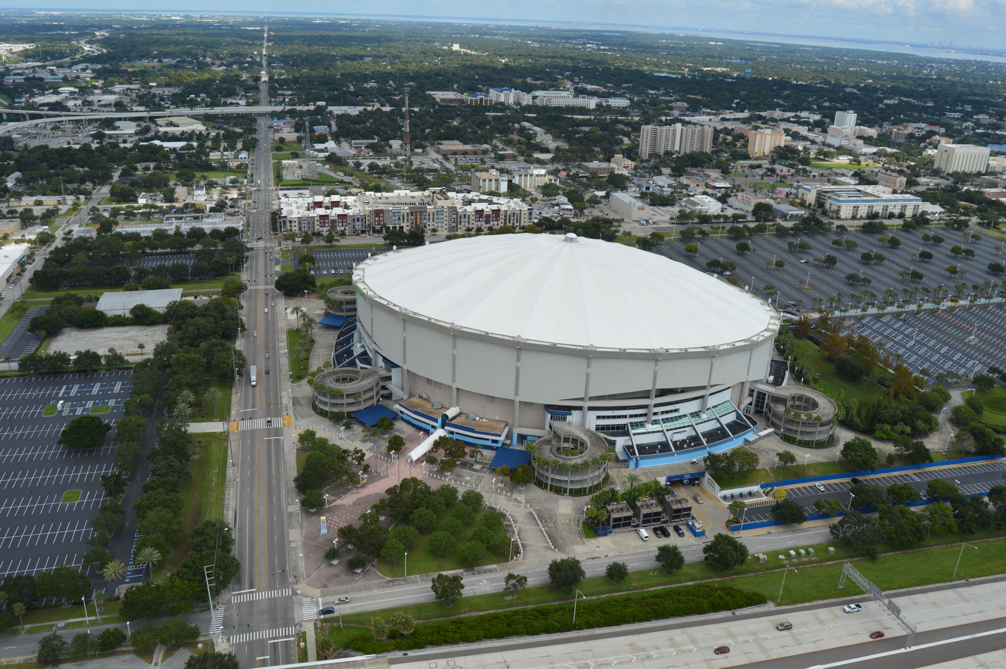 Tropicana Field. Photo by City of St. Petersburg.