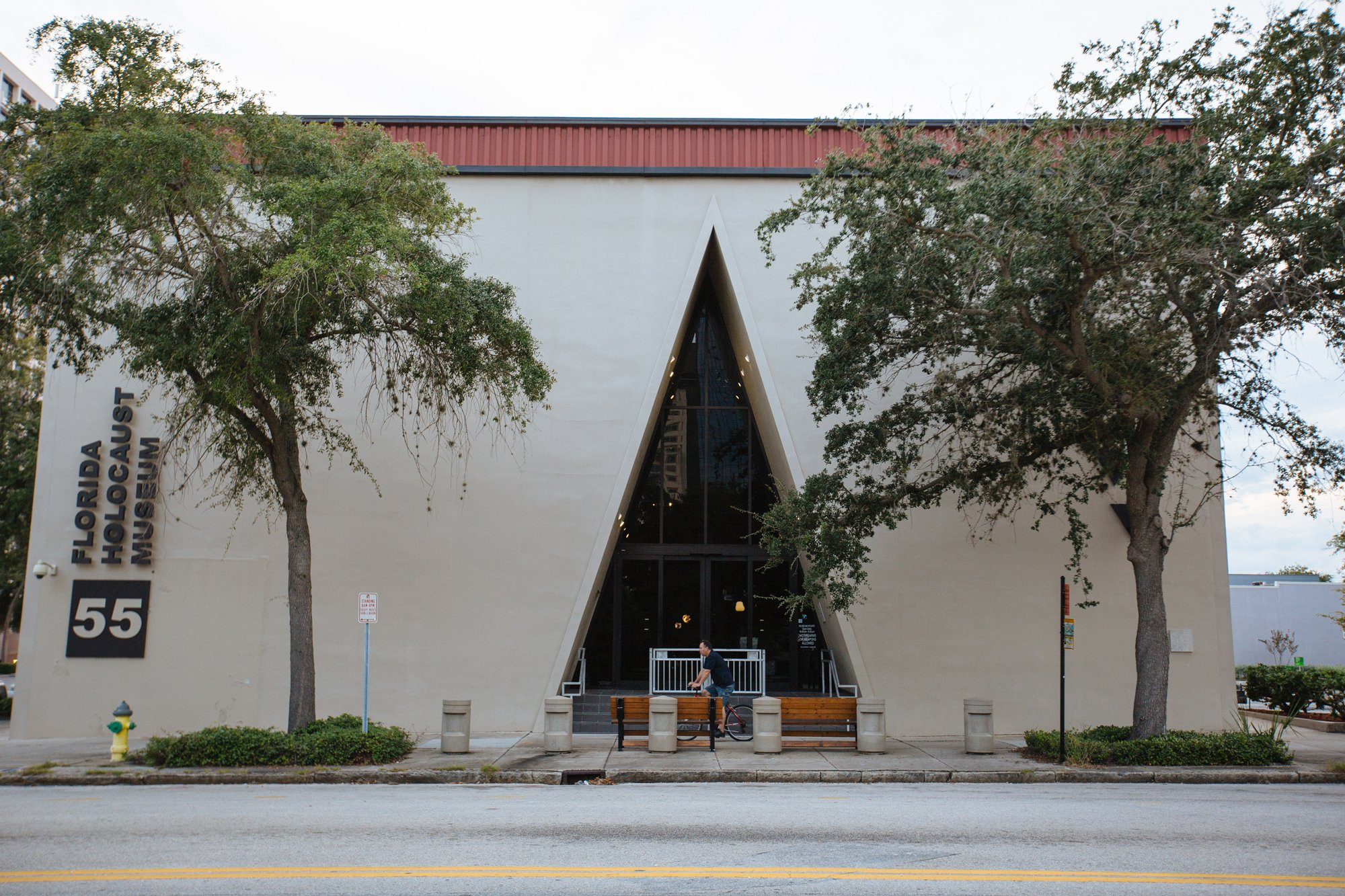 The Florida Holocaust Museum. Photo by City of St. Petersburg.