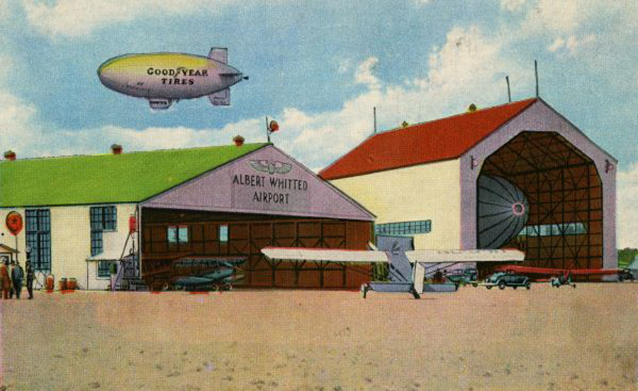 Albert Whitted Airport Postcard