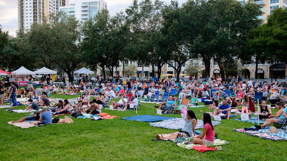 Preserve The Burg Presents Movies In The Park Green